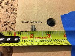 CNC - calibration issues for inlays-003-using-2-inch-mark-zero-test