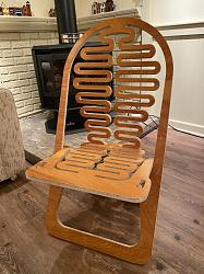 trace a plywood slotted chair designed by Gregg Fleishman-pic1-jpg