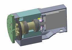 DIY 4th Axis with Brake - The Build-cad-jpg