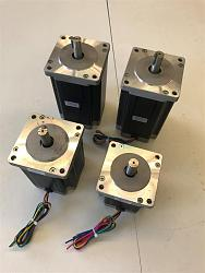 FS - ESS, NEMA 34 motors, Leadshine M860 drives, VFD, 2.2kw spindle & more-steppers-2-jpg