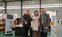 Kosovo customers visiting and ordering of 1325 ATC CNC Router-sample1_1585039460-jpg