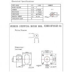 Stepper Motors with Woodpacker Camxtool v3.4 Cnc Control Boaard-stepper-nema-17-bipolar-42mm-motor-42-a