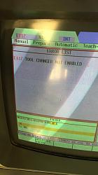 MAHO  MH 600 E CNC 532 E117 ERROR tool changer not enabled-img-20200628-wa0001-jpg
