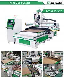 Roctech Factory CNC Wood Router Cabinet making machine-atc-cnc-16-tools-jpg