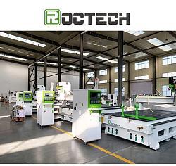 Roctech Factory CNC Wood Router Cabinet making machine-factory-2-jpg