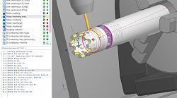 Homebrew 4th axis build underway-4thaxistestpathsgcode-jpg