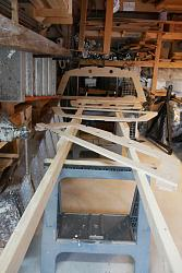 video #1 drawing out the parts for a sail boat frames and stringers-table-jpg