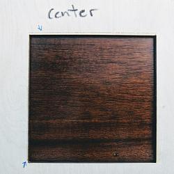 Beam splitting after extensive alignment check-center-jpg