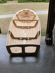 video #2 assembly of the parts for a sail boat, drawing the bottom panels-net5-jpg