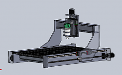 CNC router build to machine wood and aluminium (1mX1mX0.4m)-design-change-png
