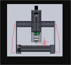 CNC router build to machine wood and aluminium (1mX1mX0.4m)-starkle-jpg