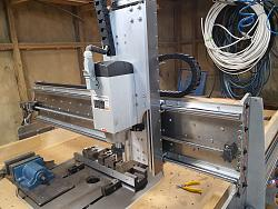 Who has lifted a 4.5kw Z axis with a Nema 23?-front-gantry-one-jpg