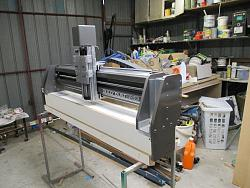 Gully's new 3x3 steel CNC router build-gantry-finished-jpg