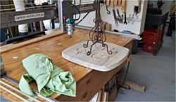 CNC router build to machine wood and aluminium (1mX1mX0.4m)-candle-stand-jpg