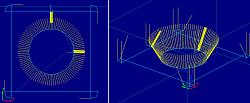 Bevel Chamfer Cutting postprocessor for waterjet, plasma and laser-bevelcut-cornerloop-jpg