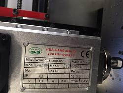 Huajiang VFD H100 and 1.5KW Spindle Speed Control-spindleplate-jpg