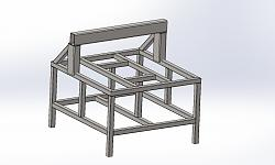 "4' x 4' x 9"" Welded Steel Frame Fixed Gantry CNC Router-reinforced-machine-concept-jpg"