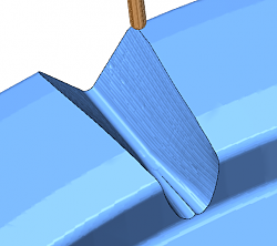 V32 need tool to plunge OFF the work piece - rough machining a face gear-gouge-check-png
