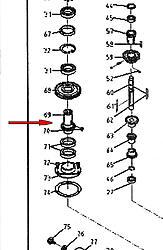 Spindle sleeve gear. RF45/ cnc masters baron-cnc-masters-baron-drive-sleeve-jpg