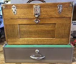 Gerstner Tool chest O41B with B20 base and cover  5-ch1-jpg