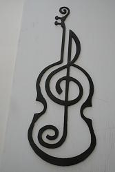 to digitize a diagram of a violin profile with a music note-violin1-jpg