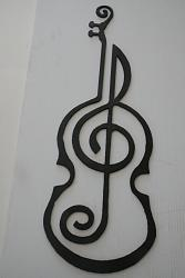 to digitize a diagram of a violin profile with a music note-violin2-jpg