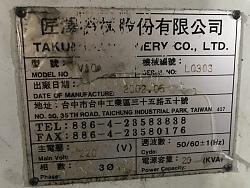 I need ladder for TAKUMI V10 A model 2001 with fanuc  Om control-11410a63-d671-4b03-8642-7bf0c3de88a9-jpg