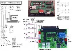 Chinese 6040 CNC Stepper Driver TX14207 and parallel interface DKJ-01A-6040-tx14207-tb6560-stepper-driver-wiring-jpg
