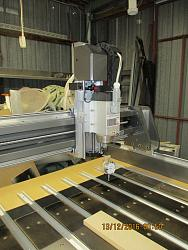Gully's new 3x3 steel CNC router build-spindle-install-jpg