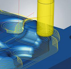 OPEN MIND Introduces hyperMILL® 2021.2 CAD/CAM Software Suite-3d-z-level-finishing-jpg
