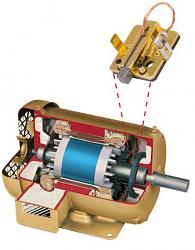 VFD to run a air compressor. Proper hookup-baldor-motor-brush-png