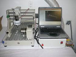 For Sale: 4-Axis CNC Router Engraving Machine, TONSEN TS3040C-cnc4a1-jpg