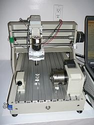 For Sale: 4-Axis CNC Router Engraving Machine, TONSEN TS3040C-cnc4a2-jpg