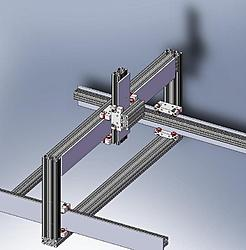CNCRouterParts -- New linear motion system for use with 8020 extrusion.-crp100-jpg