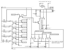 Wiring diagram (including opto-coupling) for Xylotex