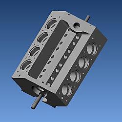 v8 engine blueprints - photo #29