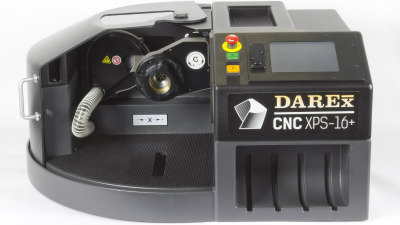 The Darex XPS-16+ is a faster and more accurate CNC drill sharpener