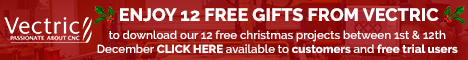ENJOY 12 FREE GIFTS FROM VECTRIC