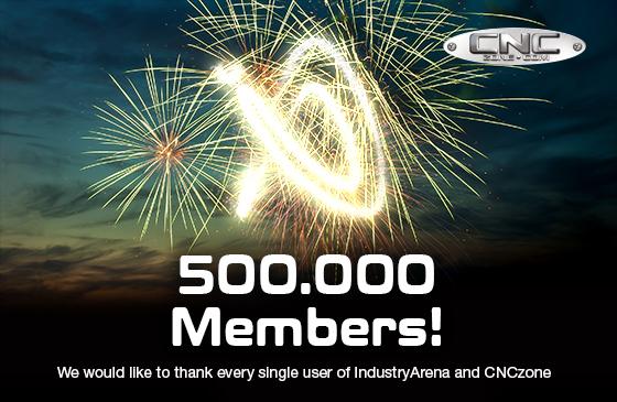 500,000 active member
